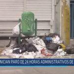 Chiclayo: Inician paro de 24 horas administrativos de la MPCH