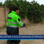 Chiclayo: Encuentran 12 kilos de marihuana enterrados en Reque