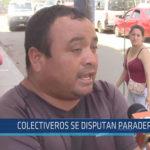 Chiclayo: Colectiveros se disputan paradero