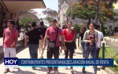 Chiclayo: Contribuyentes presentarán declaración anual de renta