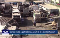 Chiclayo: Gasco firme en la contratación de 10 compactadoras