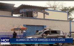 Chiclayo: Alumnos del Mater Admirabilis irán a clases