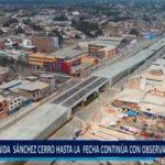 Piura: Av. Sánchez Cerro hasta la fecha continúa con observaciones técnicas