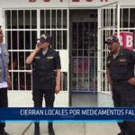 Chiclayo: Cierran locales por medicamentos falsos