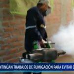 Piura: Continúan trabajos de fumigación para evitar dengue y zika