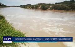 Chiclayo: Disminuyen posibilidades de lluvias fuertes en Lambayeque