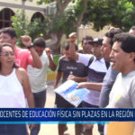 Chiclayo: Docentes de educación física sin plazas en la región Lambayeque