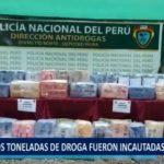 Piura: Dos toneladas de droga fueron incautadas en Sechura