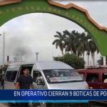 Chiclayo: En operativo cierran 9 boticas de Pomalca