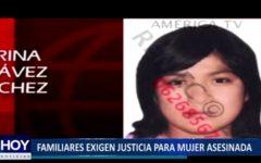 Piura: Familiares exigen justicia para mujer asesinada en Pisco