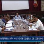 Chiclayo: Interpelaran a gerente regional de Gobierno Regional