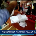 Chiclayo: Intervención en Pacora por posesión de drogas