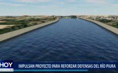 Piura: Impulsan proyecto para reforzar defensas del río