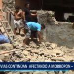 Piura: Lluvias continúan afectando el distrito de Chulucanas en la provincia de Morropón.