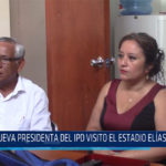 Chiclayo. Nueva presidenta del IPD visito estadio Elías Aguirre