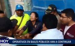 Piura: Operativos en bailes públicos van a continuar
