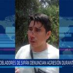 Chiclayo. Pobladores denuncian agresión durante diligencia