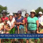 Chiclayo: Por tercera vez se frustra desalojo de Batangrande