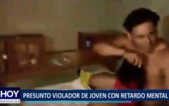 Piura: Policía detiene a presunto violador de joven con retardo mental