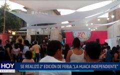 """Chiclayo: Se realizó  2º edición de feria  """"La Huaca Independiente"""""""