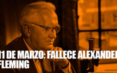 Un día como hoy fallece Alexander Fleming