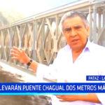 La Libertad: Elevarán puente Chagual dos metros más