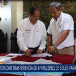 Chiclayo: Autorizan transferencia de 47 millones de soles para Lambayeque