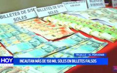 Trujillo: incautan más de 150 mil soles en billetes falsos