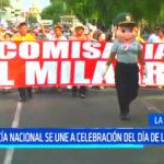 Policía Nacional se une a celebración del Día de la Mujer