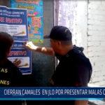 Chiclayo: Cierran camales en JLO por presentar malas condiciones