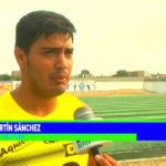 Club 8 de Octubre: Martín Sánchez, de asistente técnico a futbolista
