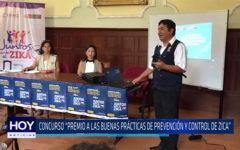 """Chiclayo: concurso """"Premio a las Buenas Prácticas de Prevención y Control del Zika"""""""