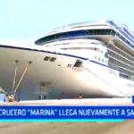"Trujillo: crucero ""Marina"" llega nuevamente a Salaverry"