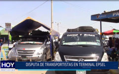 Chiclayo: Disputa de transportistas en terminal Epsel