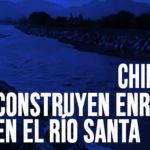 Chimbote: Construyen enrocado en el Río Santa