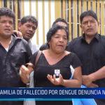 Chiclayo: Familia de fallecido por dengue denuncia negligencia