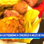 """Trujillo: Feria gastronómica """"Sabor Moche"""" congregó a miles de paladares"""
