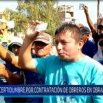 Chiclayo: Incertidumbre por contratación de obreros en obra de aeropuerto