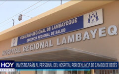 Chiclayo: Investigaran al personal del hospital por denuncia de cambio de bebes