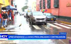 Alerta: Lluvias en Trujillo prolongadas continuarán