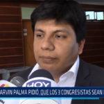 Chiclayo: Marvin Palma pidió que los 3 congresistas sean investigados