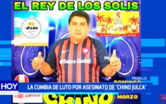 "Trujillo: cumbia de luto, asesinan al ""Chino Julca"""