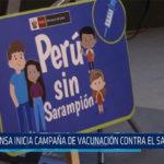 Chiclayo: Minsa inicia campaña de vacunación contra el Sarampión