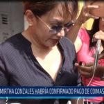 Chiclayo: Mirtha Gonzales habría confirmado pago de coimas a Becerril