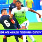 """Carlos Fernández: """"jugar ante Mannucci, tiene un plus adicional"""""""