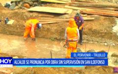 Alcalde se pronuncia por obra sin supervisión en San Ildefonso