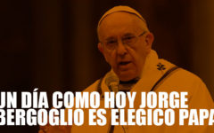 Un día como hoy Jorge Mario Bergoglio es elegido como Papa