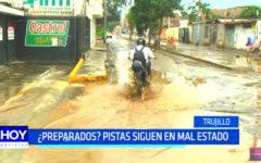 Trujillo: las pistas de la ciudad siguen en mal estado
