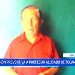 Prisión preventiva a profesor acusado de tocamientos