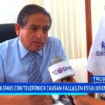 Trujillo: problemas con Telefónica causan fallas en EsSalud en Línea